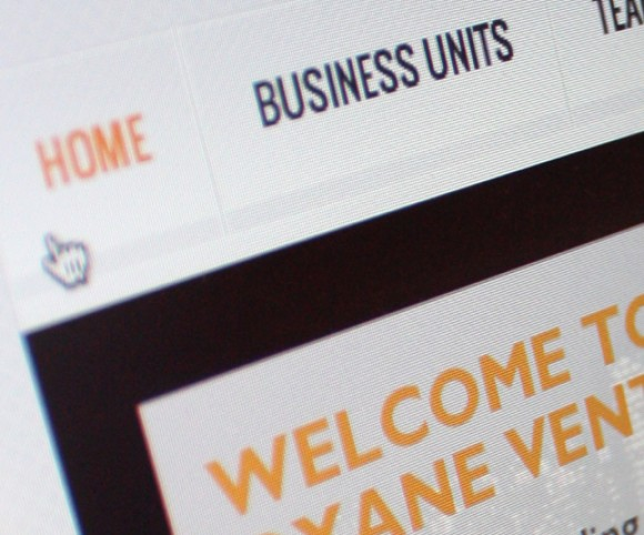 page accueil Oxane Ventures