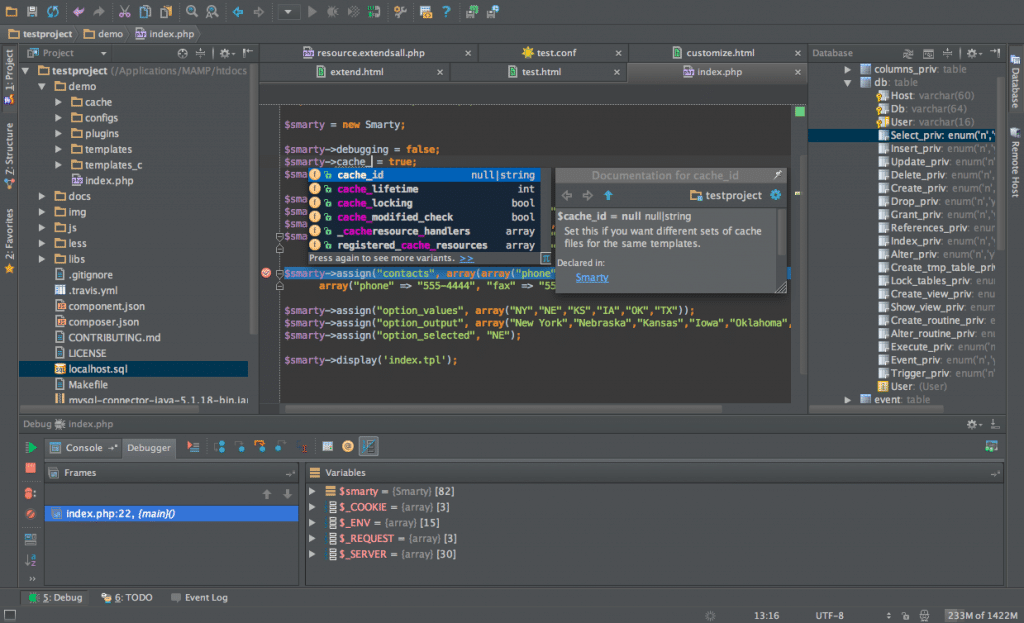 PhpStorm-developpement-web-screenshot