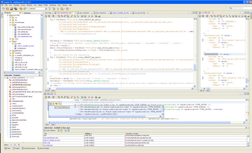 netbeans-developpement-web-screenshot